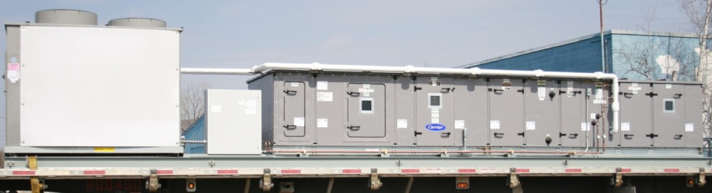 Large unitary cooling system